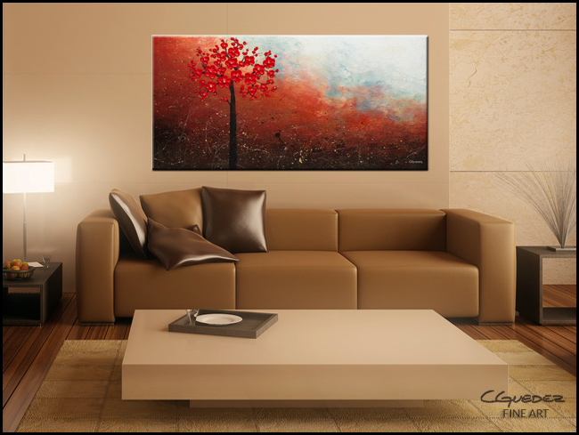 Natural Beauty-Modern Contemporary Abstract Art Painting Image