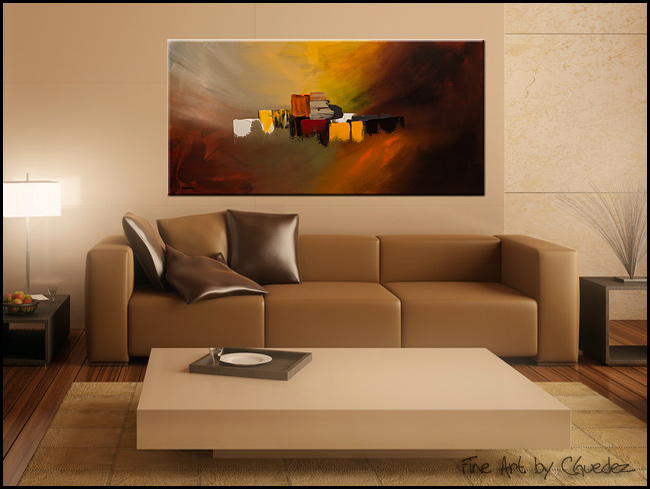 Contemporary Abstract Art New Beginning Large Original