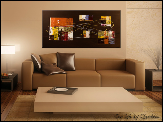Opulent Whisper-Modern Contemporary Abstract Art Painting Image