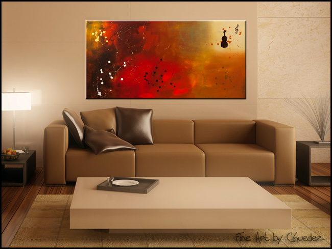Requiem-Modern Contemporary Abstract Art Painting Image