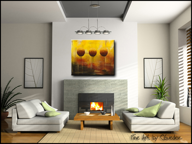 A Bright Day-Modern Contemporary Abstract Art Painting Image