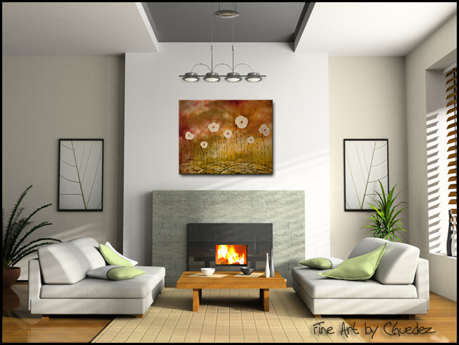 Joyce to the World-Modern Contemporary Abstract Art Painting Image