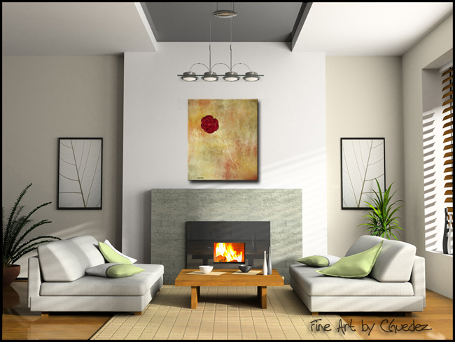 Marry Me-Modern Contemporary Abstract Art Painting Image
