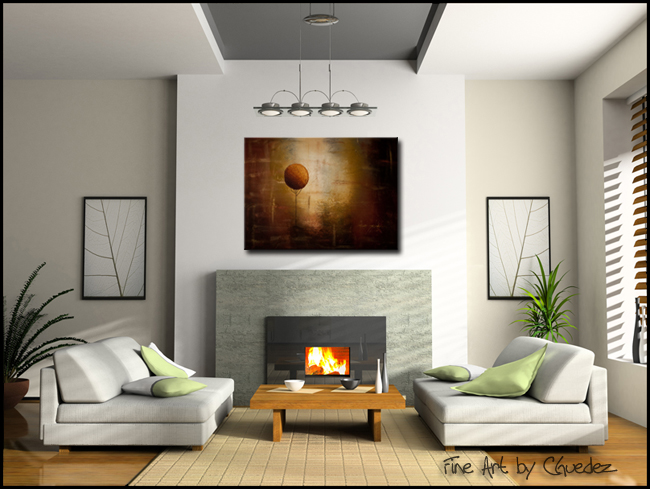 Prosperity-Modern Contemporary Abstract Art Painting Image