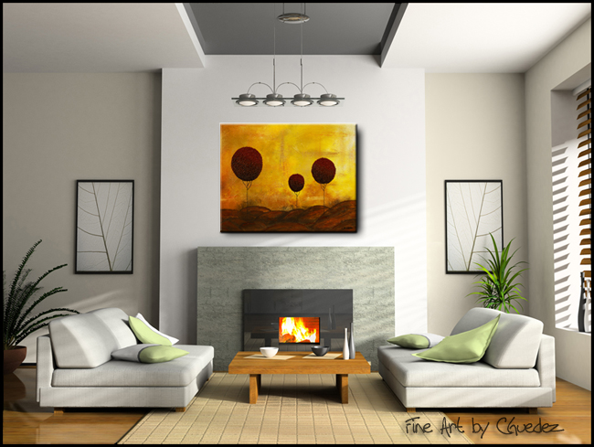 Side to Side-Modern Contemporary Abstract Art Painting Image
