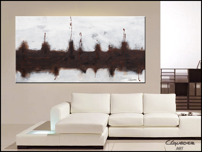 Le Port-Modern Contemporary Abstract Art Painting Image