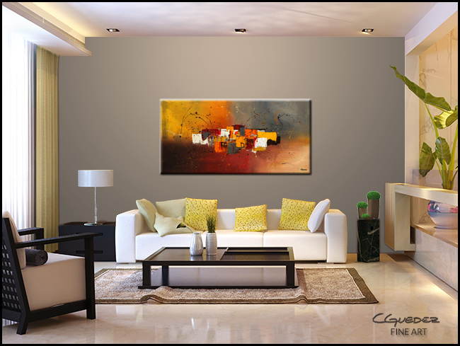 Decora-Modern Contemporary Abstract Art Painting Image