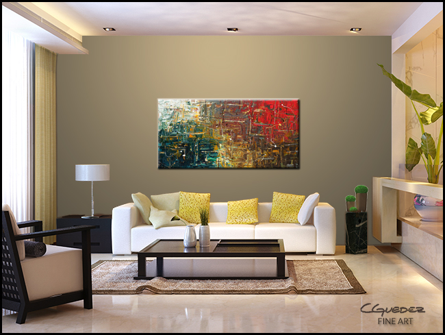 The Middle Way-Modern Contemporary Abstract Art Painting Image
