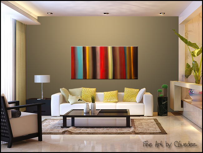 Virtudes-Modern Contemporary Abstract Art Painting Image