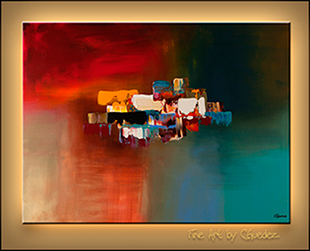 Abstract Art Dream by Carmen Guedez