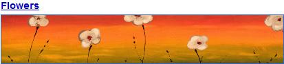 Flowers iGoogle Theme width=