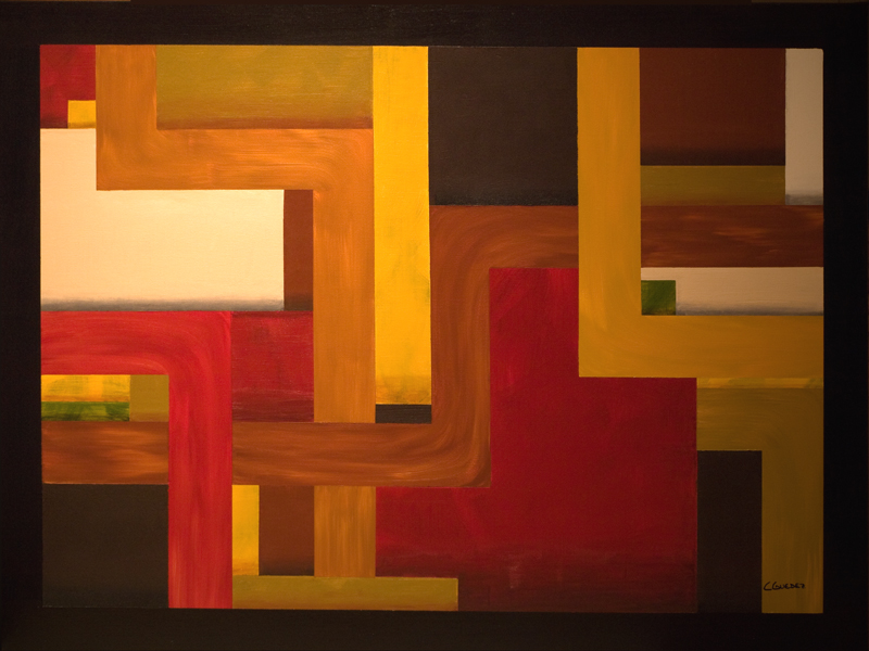 Fortaleza-Abstract Painting Image