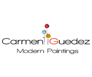 Modern Abstract Art Paintings by Carmen Guedez
