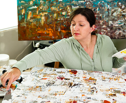 Carmen Guedez Painting