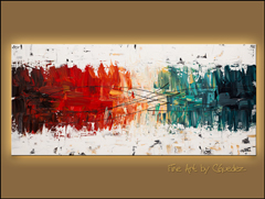 Featured Abstract Painting by CGuedez