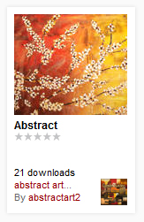 Wallpaper of Abstract Paintings for Androids/Droids-3
